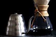 Coffee Brewing Gear / Discover the world of alternative coffee brewing processes, including pour-over, cold filter, aeropress, plunger and syphons.