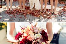 Crimson Colors / 2014 Trend: Crimson is a gorgeous color that will surely add a bright and cheery feel to your big day! Whether crimson makes it as an accent or as a main color in your wedding, it is sure to be beautiful! Here are a few pins featuring this bold color in weddings.