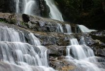 Whimsical Waterfalls / Beautiful, whimsical waterfalls that align the many remote pathways of the Great Smoky Mountains.