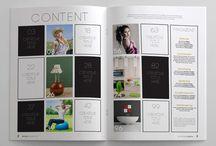 INDEX e Sommary  - Layout / Layout e ispirazioni per layout di Sommary, e indici (impaginazione)