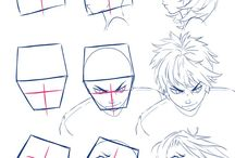 drawing face different angle