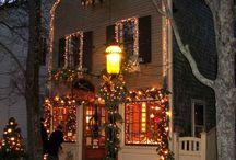 fachadas navidad