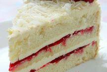 Baking cakes