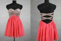 Back of dresses