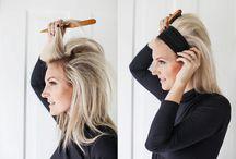 sleek hairstyles headband