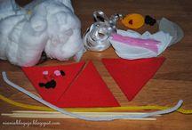 Kreatywny kącik malucha / Znajdziesz tutaj propozycje zabaw plastycznych z twoim dzieckiem