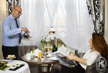 Room Service / Śniadanie do pokoju w Rezydencja Luxury Hotel****.
