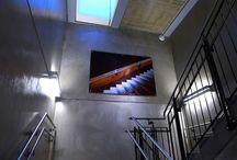 Interiør//glass-skyvedør