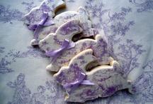 lavander blue and purple
