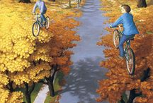 SANAT/ART / PAİNT;Mind-Bending Paintings by,Canadian Artist Rob Gonsalves
