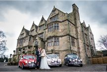 Weston Hall weddings / A board showing some of my favourite photos from weddings at Weston Hall in Stafford