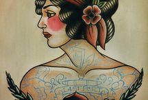 Tatuagem :. old school