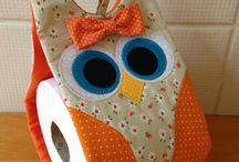 owl toilet paper holder