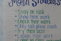 Classroom - Anchor Charts - Math / by Misty Miles