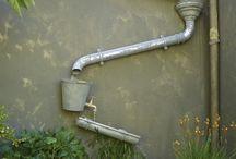 eau au jardin