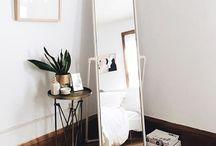 Bedroom mirror idea