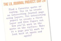 Lil journal project