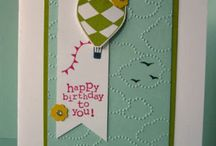 Craft Inspo - Up and Away / Stampin' Up! crafts