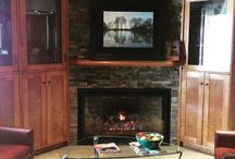 Fireplaces / Current fireplaces on our showfloor.