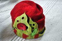 Felted Hat Feutre Chapeau / by Marlaine Proulx