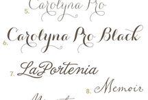Font Favorites