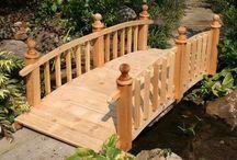 Puutarhan siltoja