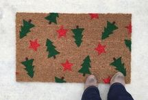 Christmas Doormats / Holiday and Christmas Doormats