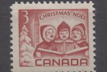 Christmas on Stamps / Christmas themes as depicted on stamps
