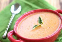 Tomato pram. Soup