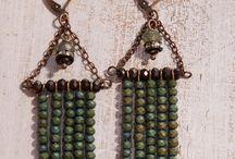 old Greece earrings
