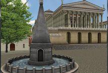 VAL DO COLISEO / Val do Coliseo Domus Aurea O Coliseo O Coloso de Nerón O arco de Constantino A Meta Sudans