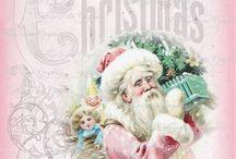 SHABBY CHRISTMAS DECOUPAGE