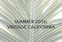 Vintage Cali / With a nod to vintage Venice and Newport Beach, we've used essential stripes, jersey tie-dye, and vintage-washed linen in Summer '16 to take us back to our Southern California roots.