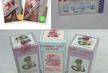 COBRA OIL Pembesar Penis Herbal