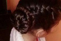 peinados a mi Chule