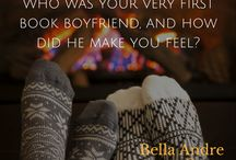Bella Andre Questions / Are you a romance junkie too? Answer these questions to connect with other super readers!