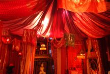 Red tent ideas