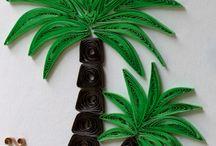 Qulling palme