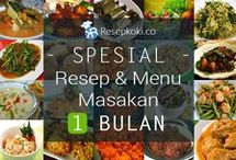Menu Sebulan