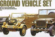 Academy, 1/72, Military Vehicles kits