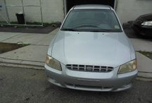 Used 2002 Hyundai Accent for Sale ($2,100) at Paterson, NJ / Make:  Hyundai, Model:  Accent, Year:  2002, Body Style:  Tractor, Exterior Color: Silver, Interior Color: Gray, Vehicle Condition: Excellent,  Mileage:95,000 mi, Engine: 4Cylinder L4, 1.6L, Fuel: Gasoline Hybrid, Transmission: Automatic.   Contact: 973-925-5626    Car Id (56670)