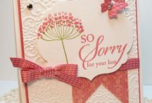cards---Sympathy  / by Donna VanGeest