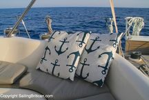 Brtiican Shop / Here are all the lovely nautical products we sell from our Sailing Britican shop - find t-shirts, jewellery, sailing belts, pillow cushions and even herb and spice blends for sailors! Anchors, compasses, dolphins, sailboats and more...
