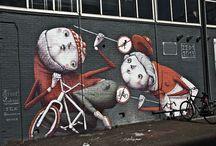Arte: Street Art / Street Art, Grafite e afins.