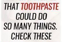 Toothpaste wonders
