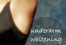 UNDER ARMS  WHITINING