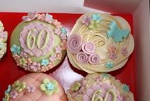 60th Cupcakes