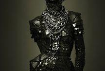 Masker gotisk inspiration