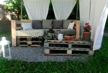 Pallets / Pallet garden ideas