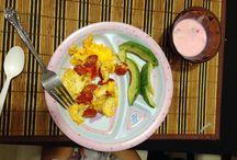 Desayuno/cena/almuerzo / Prácticos alimentos para niños sanos